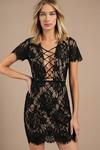 Liisa Lace Up Bodycon Dress