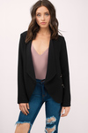 Rise Up Double Zipper Blazer