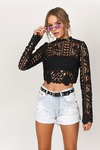 Style And Lace Crop Top