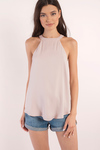 Reign High Mock Neck Top