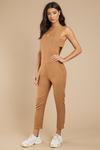 Sidebar Cut Out Jumpsuit