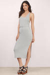 Gweneth Racerback Midi Dress