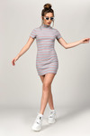 Pettra Stripe Bodycon Dress