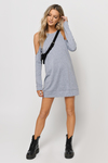 Flirt With You Sweatshirt Dress