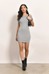 Rehab Clothing Jad Cold Shoulder Bodycon Dress