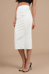 Grace High Waisted Midi Skirt