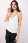 Liselle Surplice Halter Top