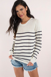 Lost At Sea Striped Sweater
