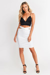 Sliced & Diced Pencil Skirt
