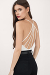 Sun Ray Strappy Back Bodysuit
