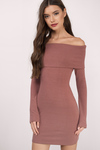 Theon Off Shoulder Bodycon Dress