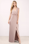 What I Need Slit Maxi Dress