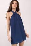 Marilyn Halter Shift Dress