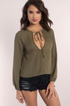 Gwynn Square Neck Blouse