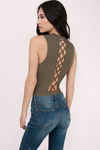 Lori Lace Up Bodysuit