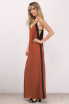 The Morgan Color Block Maxi Dress