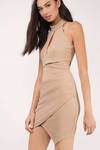 Kai Keyhole Bodycon Dress