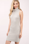 Kerri Turtle Neck Sweater Dress