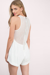 Charlene Sheer Trapeze Romper